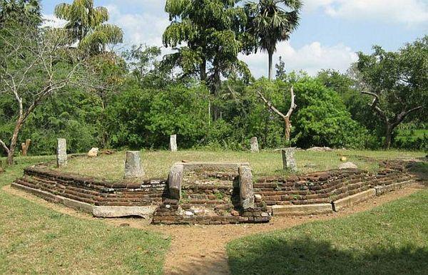 Symboly na kameni z parku Ramansu