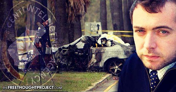 Hastingovo auto po nehodě