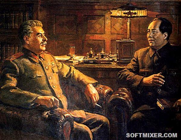 Stalin a Mao Ce Tung