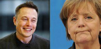 Musk a Merkelová