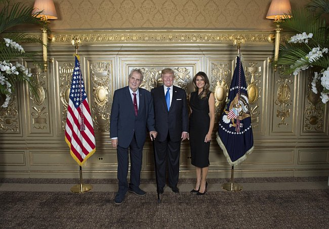 Zeman, Trump, Trumpová